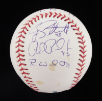 """Rick Porcello, Cody Satterwhite & Robbie Weinhardt Signed OML Baseball Inscribed """"No Hitter"""" & """"July 19th, 2008"""" (JSA COA) at PristineAuction.com"""