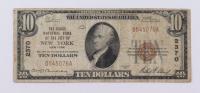 1929 $10 Ten-Dollars U.S. National Currency Bank Note - (The National City Bank of New York, New York) at PristineAuction.com