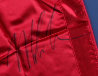 Mike Tyson Signed 28x33 Custom Framed Boxing Trunks Display (PSA COA) (See Description) at PristineAuction.com