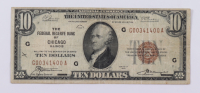 1929 $10 Ten-Dollars U.S. National Currency Bank Note - (The Federal Reserve Bank of Chicago, Illinois) at PristineAuction.com
