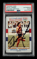 Caitlyn Jenner Signed 1991 Impel U.S. Olympic Hall of Fame #33 Bruce Jenner (PSA Encapsulated) at PristineAuction.com