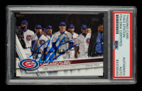 Theo Epstein Signed 2017 Topps Update #US44 Chicago Cubs World Series Celebration (PSA Encapsulated) at PristineAuction.com
