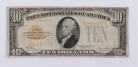 1928 $10 Ten-Dollars Gold Seal Certificate Bank Note at PristineAuction.com