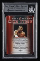 Mike Tyson Signed 2020 Leaf Special Edition Autographs #SEMT2 (BGS Encapsulated) at PristineAuction.com