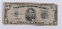 1934-B $5 Five-Dollar Blue Seal Silver Certificate Note at PristineAuction.com