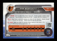 Ryan Mountcastle Signed 2019 Bowman Chrome Prospects #BCP41 (Beckett Hologram) at PristineAuction.com