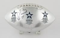 Jay Novacek Signed Commemorative Cowboys  Super Bowl Logo Football (JSA Hologram) (See Description) at PristineAuction.com