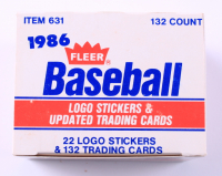 1986 Fleer Update Complete Set of (132) Baseball Cards with #20 Jose Canseco, #14 Barry Bonds RC, #25 Will Clark RC (See Description) at PristineAuction.com