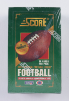 1993 Score Football Hobby Box with (36) Packs at PristineAuction.com