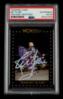 "Ric Flair Signed 1991 Championship Marketing WCW #35 ""Nature Boy"" (PSA Encapsulated) at PristineAuction.com"