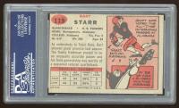 Bart Starr 1957 Topps #119 RC (PSA 8) (OC) at PristineAuction.com