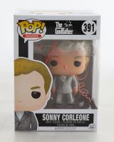 "James Caan Signed ""The Godfather"" #391 Funko Pop! Vinyl Figure (Schwartz COA) at PristineAuction.com"