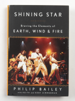 """Philip Bailey Signed """"Shining Star: Braving the Elements of Earth, Wind, and Fire"""" Hardcover Book (Beckett COA) at PristineAuction.com"""