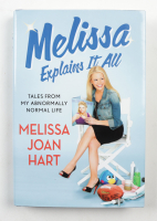 """Melissa Joan Hart Signed """"Melissa Explains It All"""" Hardcover Book Inscribed """"All my best!"""" (Beckett COA) at PristineAuction.com"""