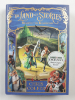 """Chris Colfer Signed """"The Land of Stories: Beyond the Kingdoms"""" Hardcover Book (Beckett COA) (See Description) at PristineAuction.com"""