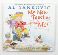 """""""Weird"""" Al Yankovic Signed """"Teacher and Me!"""" Hardcover Book Inscribed """"3 Grammys"""" & """"Weird Al"""" (Beckett COA) (See Description) at PristineAuction.com"""