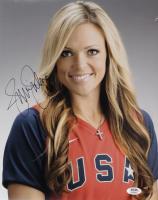 Jennie Finch Signed Team USA 11x14 Photo (PSA COA) (See Description) at PristineAuction.com