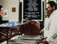 """Larry Thomas Signed """"Seinfeld"""" 11x14 Photo Inscribed """"No Soup for You!"""" & """"Soup Nazi"""" (PSA COA) at PristineAuction.com"""