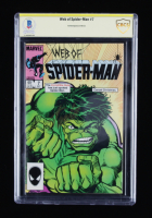 Stan Lee Signed Web of Spider-Man #7 Marvel Comic Book (BGS Encapsulated) at PristineAuction.com