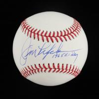 """Jim Lefebvre Signed OML Baseball Inscribed """"1965 N.L. ROY"""" (Schwartz Sports COA) at PristineAuction.com"""