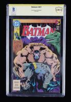 Doug Moench Signed Batman #497 D.C. Comics Comic Book (BGS Encapsulated) at PristineAuction.com