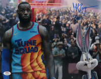 """Jeff Bergman Signed """"Space Jam: A New Legacy"""" 11x14 Photo Inscribed """"Bugs"""" (PSA Hologram) at PristineAuction.com"""