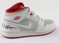 "Jeff Bergman Signed ""Space Jam: A New Legacy"" Nike Air Jordans Basketball Shoe Inscribed ""Air Bugs"" (PSA Hologram) (See Description) at PristineAuction.com"