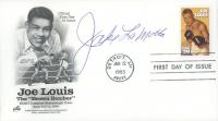 "Jake LaMotta Signed ""Joe Louis"" ArtCraft 1993 First Day Cover Envelope (JSA COA) at PristineAuction.com"
