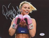 Paige Vanzant Signed UFC 8x10 Photo (PSA Hologram) at PristineAuction.com