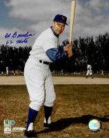 """Ed Bouchee Signed Mets 8x10 Photo Inscribed """"62 Mets"""" (AIV COA) at PristineAuction.com"""