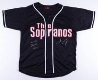 "Michael Imperioli & Steven Schirripa Signed Jersey Inscribed ""Chris"" (Imperioli COA & Schirripa COA) at PristineAuction.com"