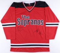Michael Imperioli & Steven Schirripa Signed Jersey (Imperioli COA & Schirripa COA) at PristineAuction.com