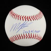 "Miguel Tejada Signed OML Baseball Inscribed ""2002 AL MVP"" (Schwartz Sports COA) at PristineAuction.com"