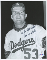 """Don Drysdale Signed Dodgers 8x10 Photo Inscribed """"My Very Best Wishes"""" (PSA COA) at PristineAuction.com"""