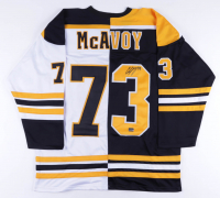Charlie McAvoy Signed Jersey (McAvoy COA) at PristineAuction.com