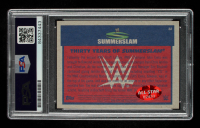 John Cena Signed 2017 Topps Heritage WWE Thirty Years of SummerSlam #32 WWE Champion Defeats Chris Jericho (PSA Encapsulated) at PristineAuction.com