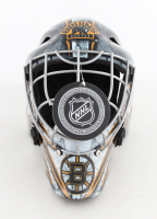 """Gerry Cheevers Signed Bruins Hockey Goalie Mask Inscribed """"HOF 85"""" (Schwartz Sports COA) at PristineAuction.com"""
