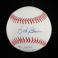 "Bob Boone Signed OML Baseball Inscribed ""'80 WS Champs"" (JSA COA) (See Description) at PristineAuction.com"