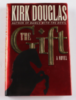 """Kirk Douglas Signed """"The Gift"""" Hardcover Book (JSA COA) at PristineAuction.com"""