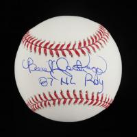 "Benito Santiago Signed OML Baseball Inscribed ""87 NL ROY"" (Schwartz Sports COA) at PristineAuction.com"