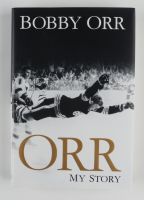 """Bobby Orr Bruins Signed """"Orr: My Story"""" Hardcover Book (Beckett COA) at PristineAuction.com"""
