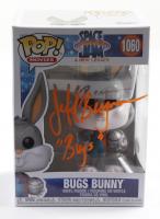 "Jeff Bergman Signed ""Space Jam: A New Legacy"" #1060 Bugs Bunny Funko Pop! Vinyl Figure Inscribed ""Bugs"" (PSA COA) at PristineAuction.com"