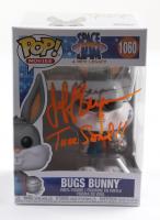 "Jeff Bergman Signed ""Space Jam: A New Legacy"" #1060 Bugs Bunny Funko Pop! Vinyl Figure Inscribed ""Tune Squad!!"" (PSA COA) at PristineAuction.com"