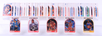 1988-89 Hoops Complete Set of (300) Basketball Cards with #138 David Robinson, #200 Michael Jordan, #266 Phil Jackson at PristineAuction.com