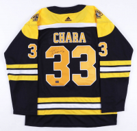 Zdeno Chara Signed Bruins 2019 Stanley Cup Finals Jersey (Chara COA) at PristineAuction.com