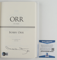 """Bobby Orr Bruins Signed """"Orr: My Story"""" Hardcover Book (Beckett COA) (See Description) at PristineAuction.com"""