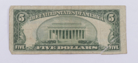 1953-A $5 Five-Dollar Blue Seal Silver Certificate Note at PristineAuction.com