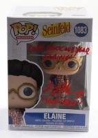 "Larry Thomas Signed ""Seinfeld"" #1083 Elaine Funko Pop! Vinyl Figure Inscribed ""Come Back One Year Elaine!"" & ""Soup Nazi"" (PSA COA) at PristineAuction.com"