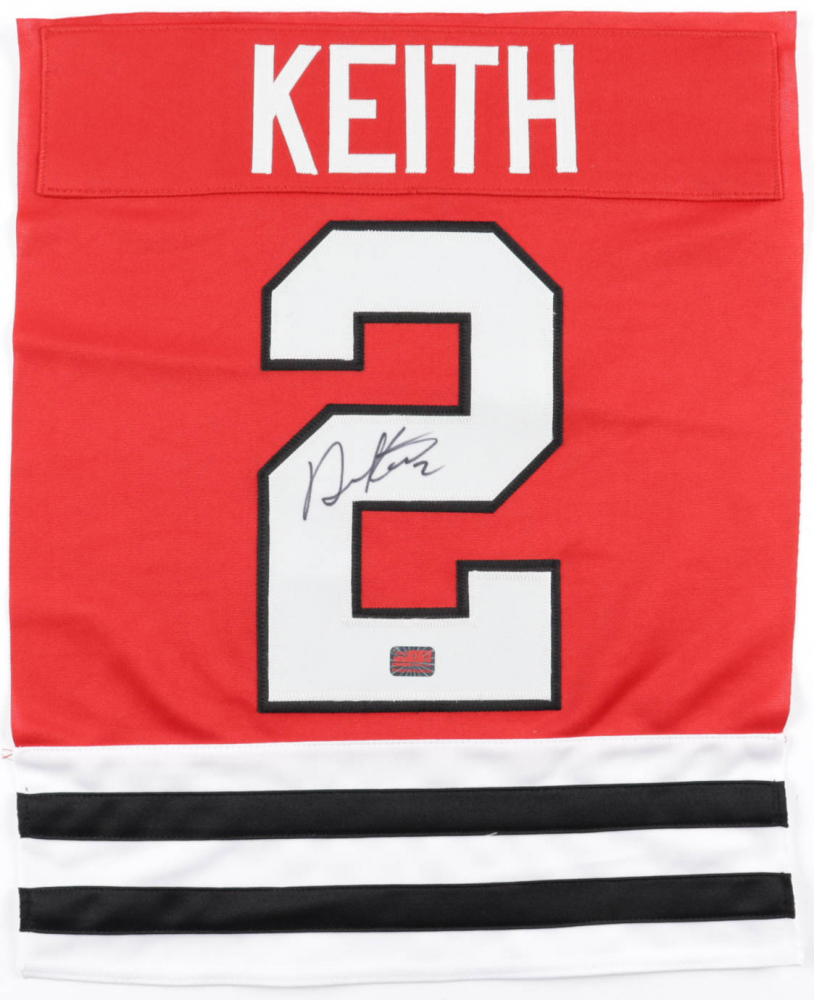 Duncan Keith Signed Jersey Swatch (Keith COA) at PristineAuction.com