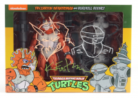 """Kevin Eastman Signed """"Teenage Mutant Ninja Turtles"""" Triceraton Infantryman & Rodkill Rodney Action Figures Box With Hand-Drawn Sketches (Beckett COA) (See Description) at PristineAuction.com"""